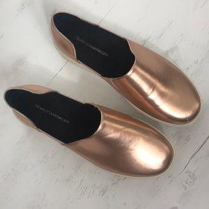 Rebecca Minkoff Rose Gold Shoes
